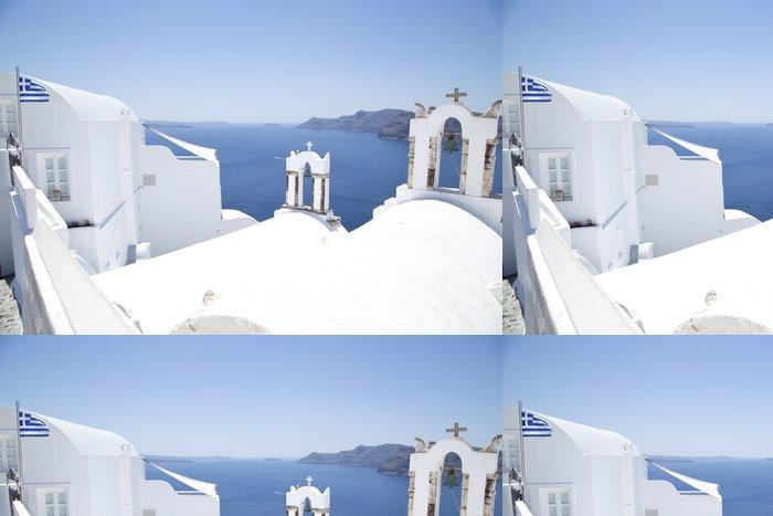 Vinylová Tapeta Santorini architektura - Evropa