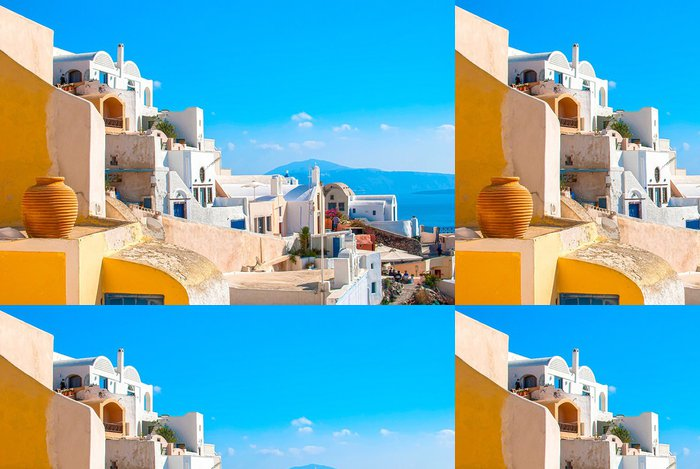 Vinylová Tapeta Santorini, Řecko - Evropa