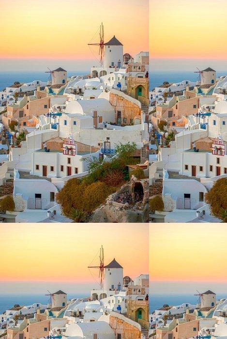 Tapeta Pixerstick Santorini, Řecko - Evropa