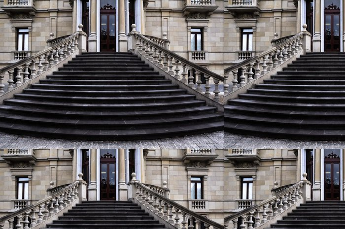 Vinylová Tapeta Schody na Augusti palác, Muzeum krásných umění Álava, Vitoria - Amerika