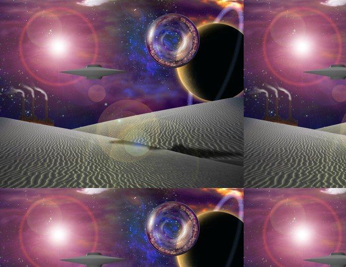 Tapeta Pixerstick Sci-fi budoucnost - Meziplanetární prostor
