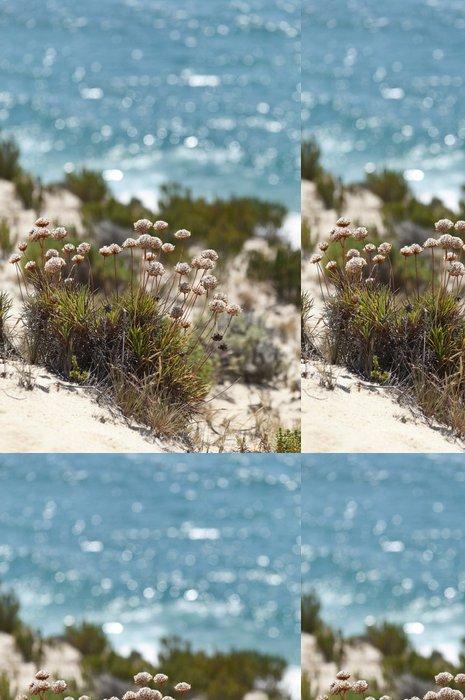 Tapeta Pixerstick Sea růžová - Květiny