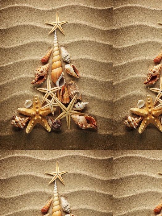Tapeta Pixerstick Sea shell písku - Mezinárodní svátky