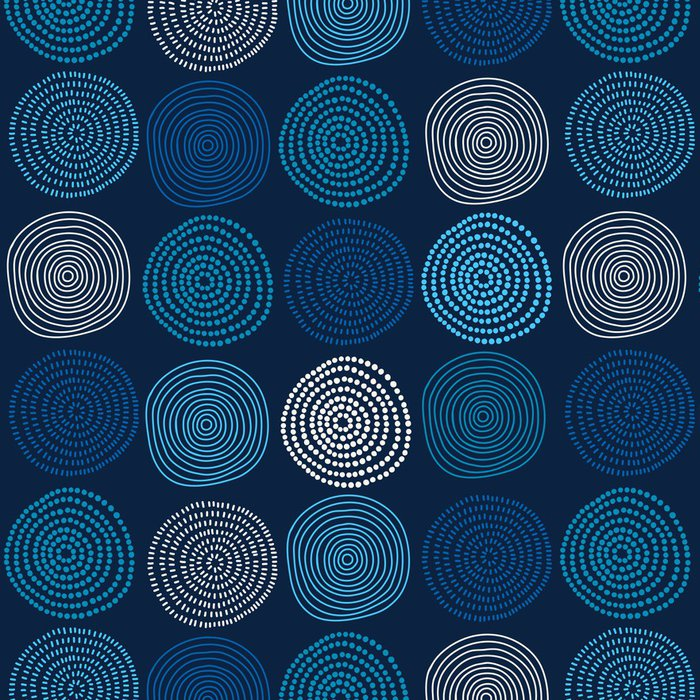 Vinylová Tapeta Seamless abstract pattern - Pozadí