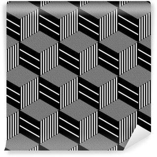Vinylová Tapeta Seamless op art vzor.