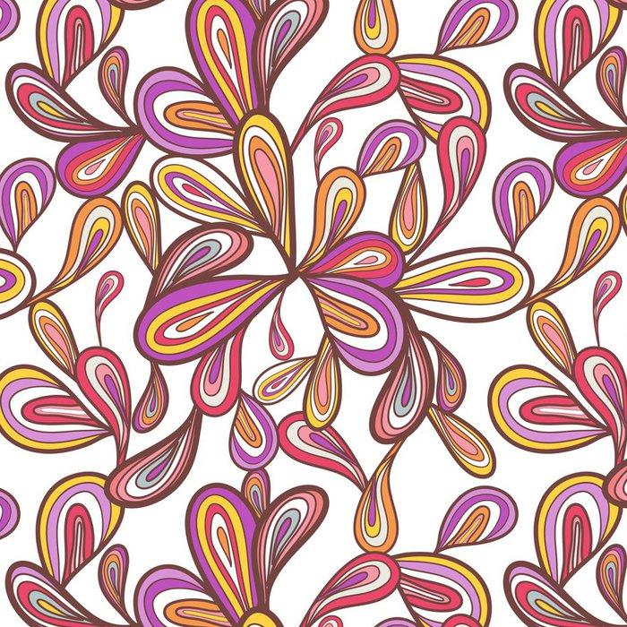 Tapeta Pixerstick Seamless vector pattern - Pozadí
