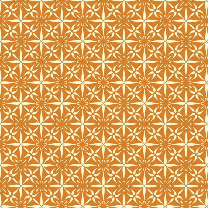 Tapeta Pixerstick Seamless Wallpaper Vector Pattern - Umění a tvorba