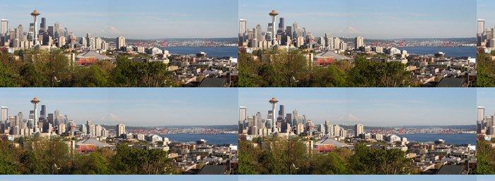 Vinylová Tapeta Seattle panorama panorama. - Amerika