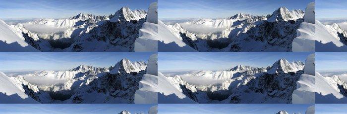 Tapeta Pixerstick Sedlo Vaha panorama - Hory