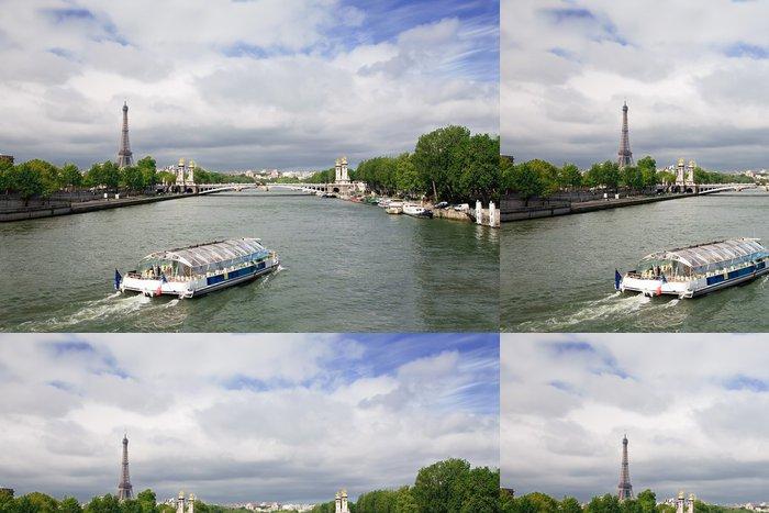 Vinylová Tapeta Seine River, Paříž, Francie - Evropská města