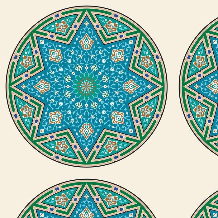 Vinylová Tapeta Sevan Floral Ornament - Střední Východ