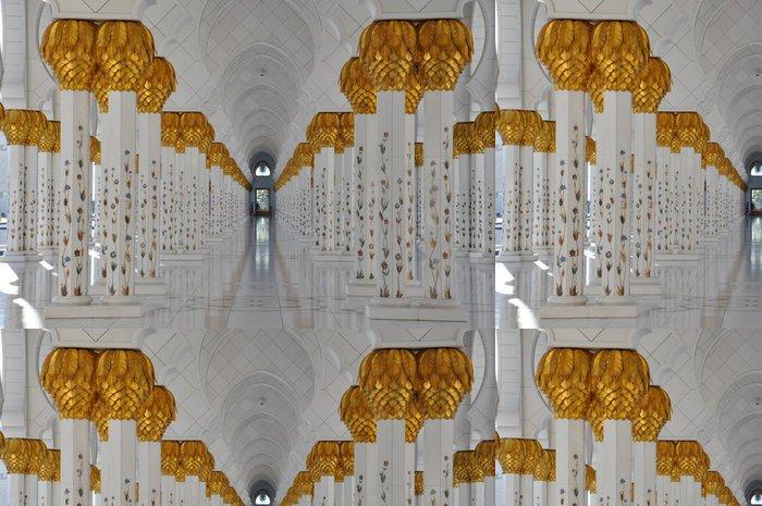 Tapeta Pixerstick Sheikh Zayed Velká mešita v Abu Dhabi, Spojené arabské emiráty - Střední Východ