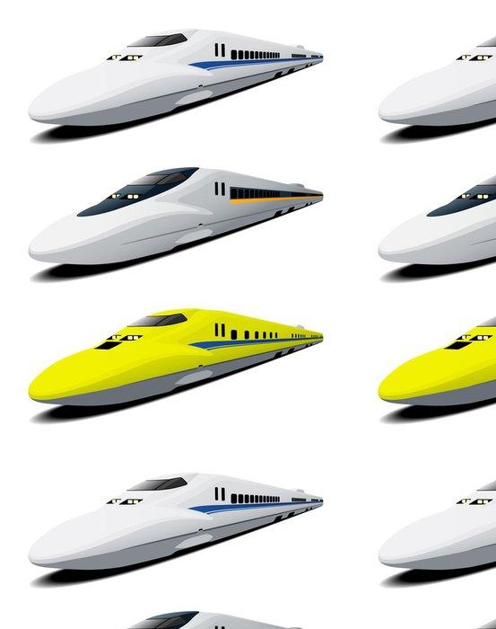 Tapeta Pixerstick Shinkansen - Asie
