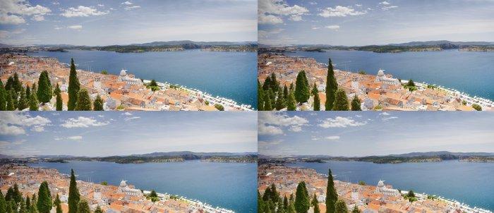 Tapeta Pixerstick Šibenik panoramatické - Evropa