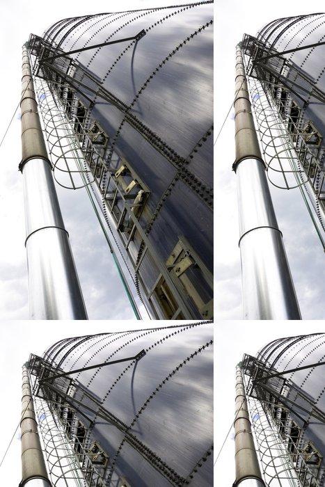Vinylová Tapeta Silo - Industriální a obchodní budovy
