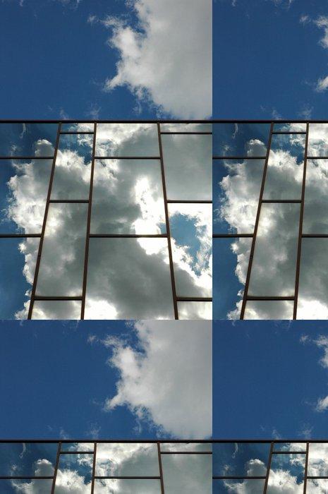 Vinylová Tapeta Simulacre de Mondrian - Těžký průmysl