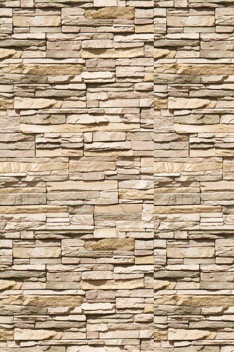 Vinylová Tapeta Skládaný kamenná zeď pozadí vertikální -
