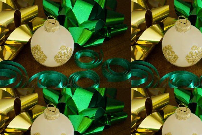Vinylová Tapeta Sklo ornament s luky - Mezinárodní svátky