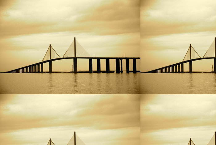 Vinylová Tapeta Skyway most v Tampa, Florida - Amerika