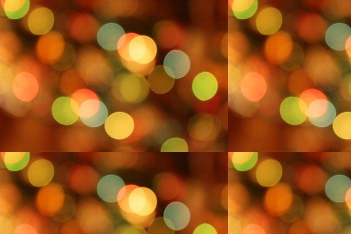 Tapeta Pixerstick Slavnostní vícebarevné pozadí s bokeh efekt - Pozadí