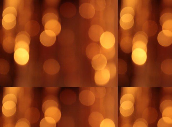 Tapeta Pixerstick Slavnostní zlaté pozadí s bokeh efekt - Pozadí