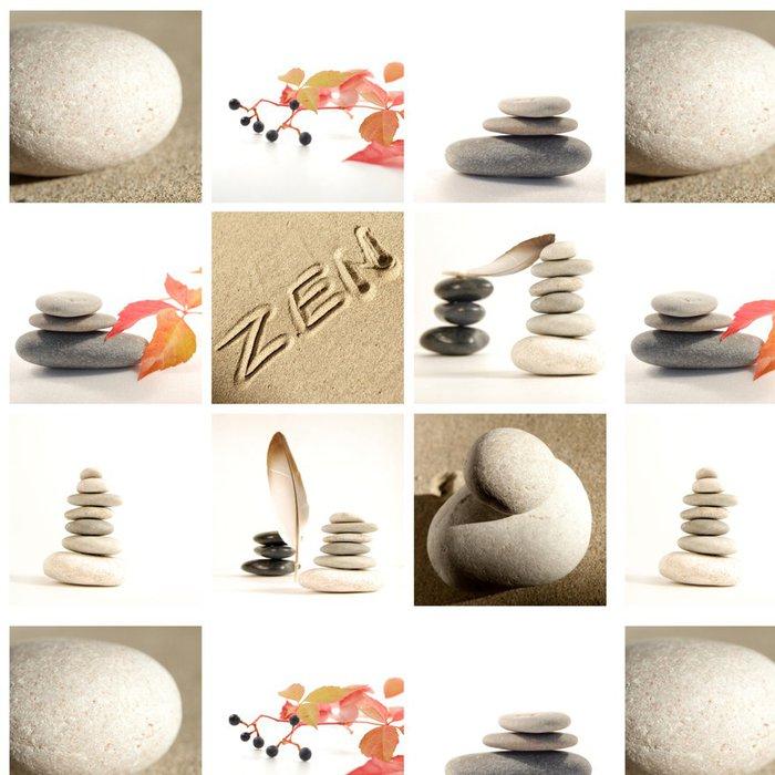 Tapeta Pixerstick Složení zen - Struktury