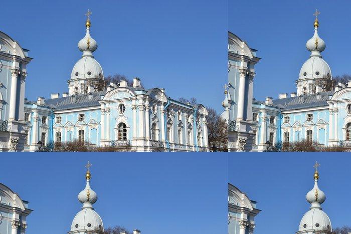 Tapeta Pixerstick Smolny katedrála - Asie
