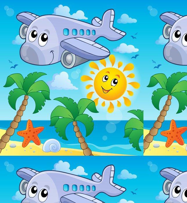 Tapeta Pixerstick Snímek s tématem letadlo 4 - Vzduch