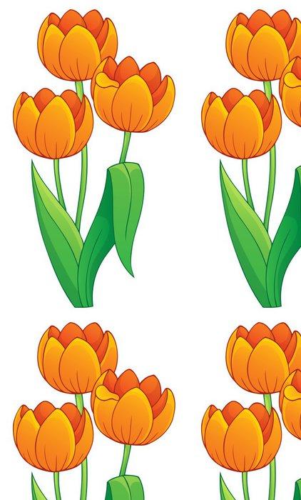 Tapeta Pixerstick Snímek s tématem tulipán květ 1 - Květiny