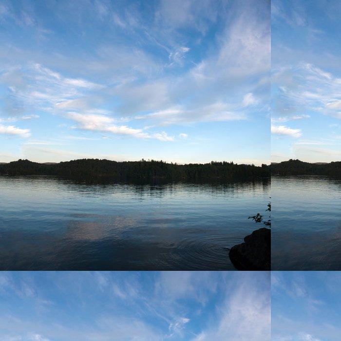Tapeta Pixerstick Snižte Saranac Lake Panorama - Voda