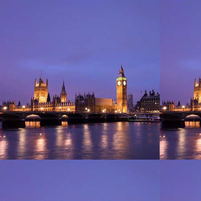 Vinylová Tapeta Snow Covered Westminster - Evropská města