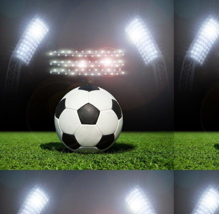 Tapeta Pixerstick Soccer ball - Týmové sporty