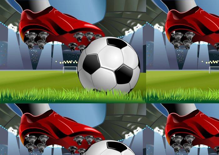 Vinylová Tapeta Soccerball a fotbal BOTY - Týmové sporty
