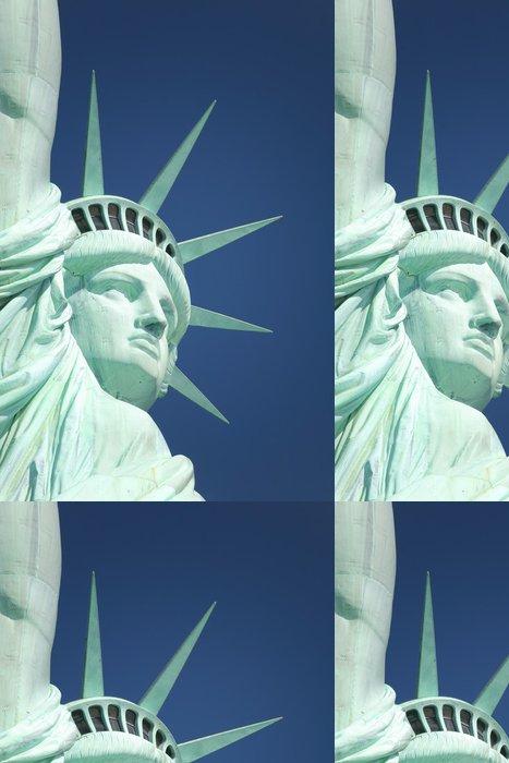 Tapeta Pixerstick Socha Freed - Americká města
