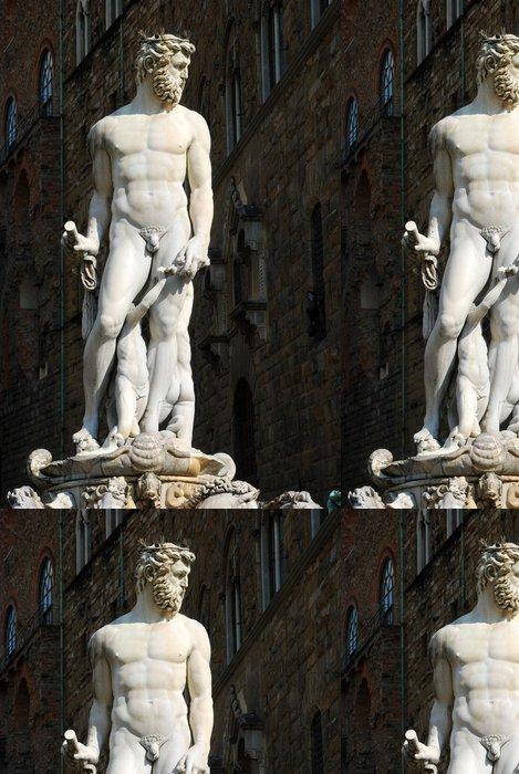 Tapeta Pixerstick Socha Piazza della Signoria v Florencie - Toskánsko - Ital - Památky