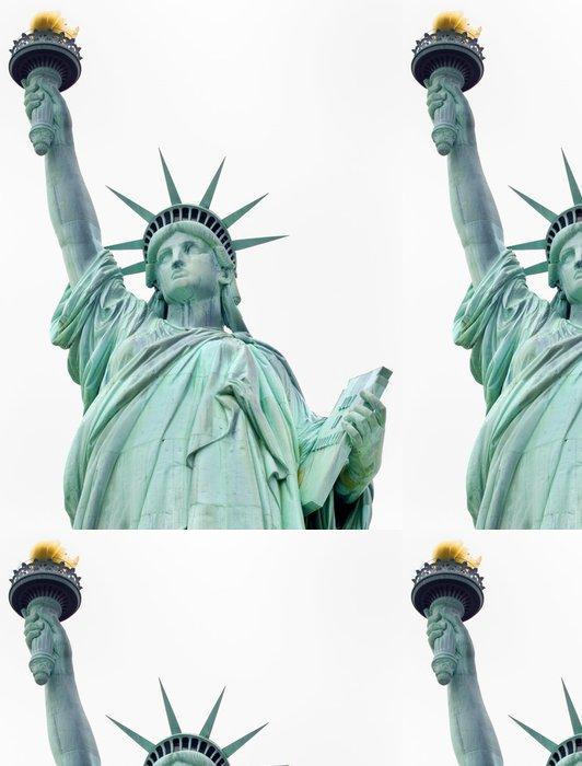 Tapeta Pixerstick Socha Svobody, New York City, USA - Amerika