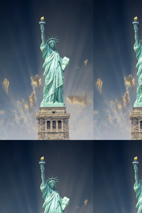 Tapeta Pixerstick Socha Svobody, NYC - Americká města