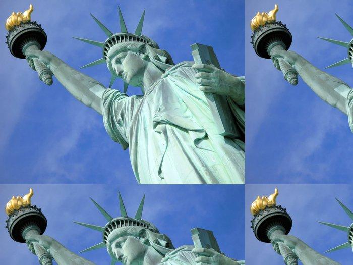 Tapeta Pixerstick Socha svobody v New Yorku - Americká města