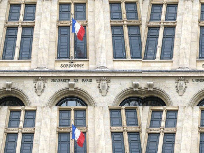 Tapeta Pixerstick Sorbonne - Vzdělávání