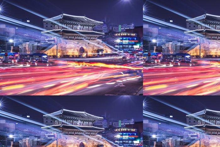 Tapeta Pixerstick Soul, Jižní Korea Panoráma - Témata