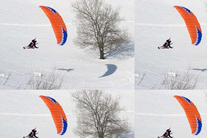Vinylová Tapeta Speedflying 3 - Zimní sporty