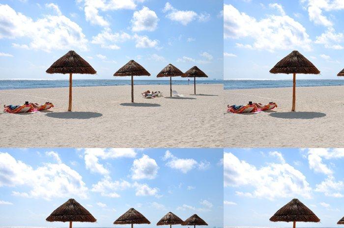 Tapeta Pixerstick Spiaggia di cancun - Amerika