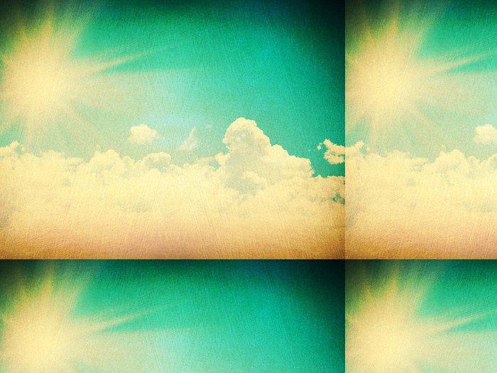 Tapeta Pixerstick Špinavé pozadí - Nebe