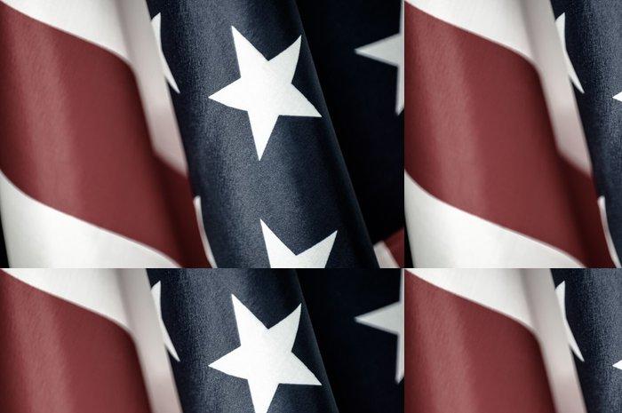Vinylová Tapeta Spojené státy americké vlajky - Amerika
