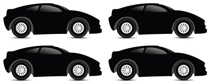 Tapeta Pixerstick Sport car - Na cestě