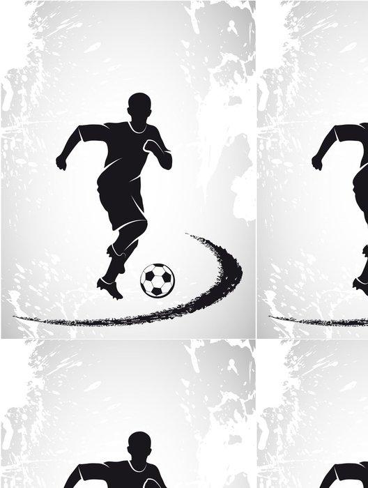 Tapeta Pixerstick Sportovní zázemí fotbalového předmětu - Témata