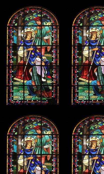Tapeta Pixerstick St Louis IX, Notre Dame de Clignancourt kostel, Paříž, Francie - Náboženství