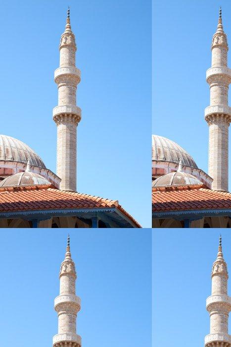Tapeta Pixerstick Stará mešita na řeckém ostrově Rhodos - Prázdniny