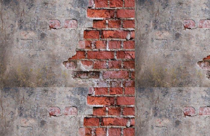 Tapeta Pixerstick Staré chátrající zdi domu - Témata