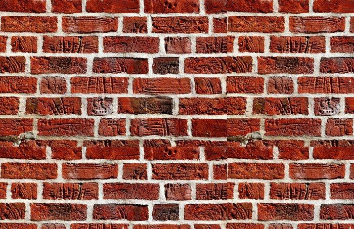 Tapeta Pixerstick Staré cihlové zdi - Pozadí